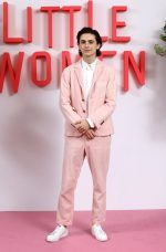 "Timothée Chalamet  In Thom Browne @ ""Little Women""  London Premiere"