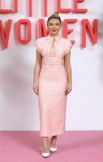 """Florence Pugh  In Emilia Wickstead  @ """"Little Women""""  London Premiere"""