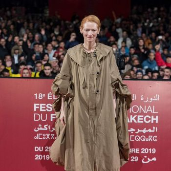 tilda-swinton-in-loewe-coat-the-snowpiercer-marrakech-film-festival-screening