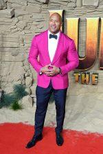 "Dwayne Johnson In  Ralph Lauren  @  ""Jumanji: The Next Level"" in London Premiere"