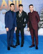 "Nick Jonas,  Joe Jonas &  Kevin Jonas,  In Fendi  @  ""Jumanji: The Next Level"" LA Premiere"