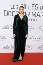 "Greta Gerwig  In Galvan @ ""Little Women"" Paris Premiere"