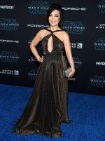 """Ming-Na Wen  In Jovani  @ """"Star Wars: The Rise of Skywalker"""" LA Premiere"""