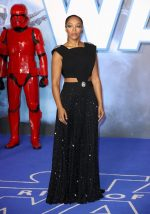 """Naomi Ackie In Christopher Kane @ """"Star Wars: The Rise Of Skywalker"""" London Premiere"""