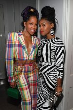 Regina King & Janelle Monáe Rock Prints @ Sean Combs 50th Birthday Bash