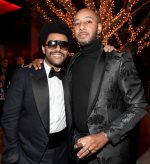 The Weeknd & Swizz Beatz attends Sean Combs 50th Birthday Bash