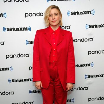 greta-gerwig-in-ryan-roche-suit-siriusxms-town-hall-in-ny