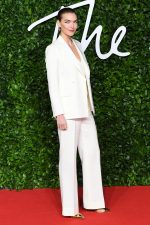 Arizona Muse  In The Deck Suit  @ 2019 British Fashion Council Awards