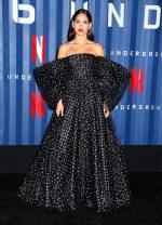 "Adria Arjona In  Armani Prive @ ""6 Underground"" Premiere in New York"