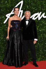 Roberta Armani & Giorgio Armani @ 2019 British  Fashion Awards