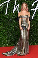 Mary Charteris  In Giambatista Valli @  2019 British Fashion Council Awards