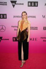 Bella Heathcote In  Gucci @  2019 NGV Gala in Melbourne