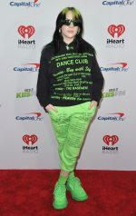 Billie Eilish  On The Redcarpet @  2019 Jingle Ball in Los Angeles