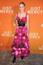 Brie Larson In  Alexander McQueen @ The 'Just Mercy' Celebration Conversation