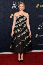 """Greta Gerwig  In Oscar De La Renta @ """"Little Women"""" World Premiere In New York"""