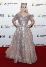 Carrie Underwood  In  Fouad Sarkis @  2019 Kennedy Center Honors in Washington, DC