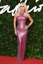 Donatella Versace Attends  2019 British Fashion Awards