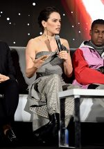 """Daisy Ridley Attends """"Star Wars: The Rise of Skywalker"""" Press Conference in Pasadena"""