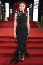 Eleanor Tomlinson in Armani Prive  @ 2019 British Fashion Council Awards