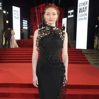 eleanor-tomlinson-in-armani-prive-2019-british-fashion-council-awards
