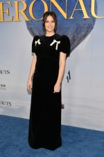 Felicity Jones  In  The Vampire's Wife @  'The Aeronauts' New York Premiere