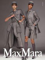 Gigi Hadid & Joan Smalls  Stars In  Max Mara's Spring/Summer 2020 Campaign