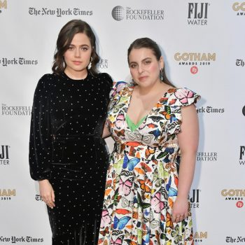 molly-gordon-beanie-feldstein-2019-gotham-awards