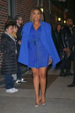 "Jennifer Hudson  In Blue Design @   ""Cats""  New York Promo"