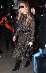 "Jennifer Lopez In Saint Laurent Dress @ ""Hustlers"" New York Screening"