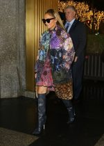 "Jennifer Lopez   In Coach Coat Arriving  @ ""The Tonight Show Starring Jimmy Fallon"""