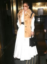 Jennifer Lopez In Valentino Out In New York