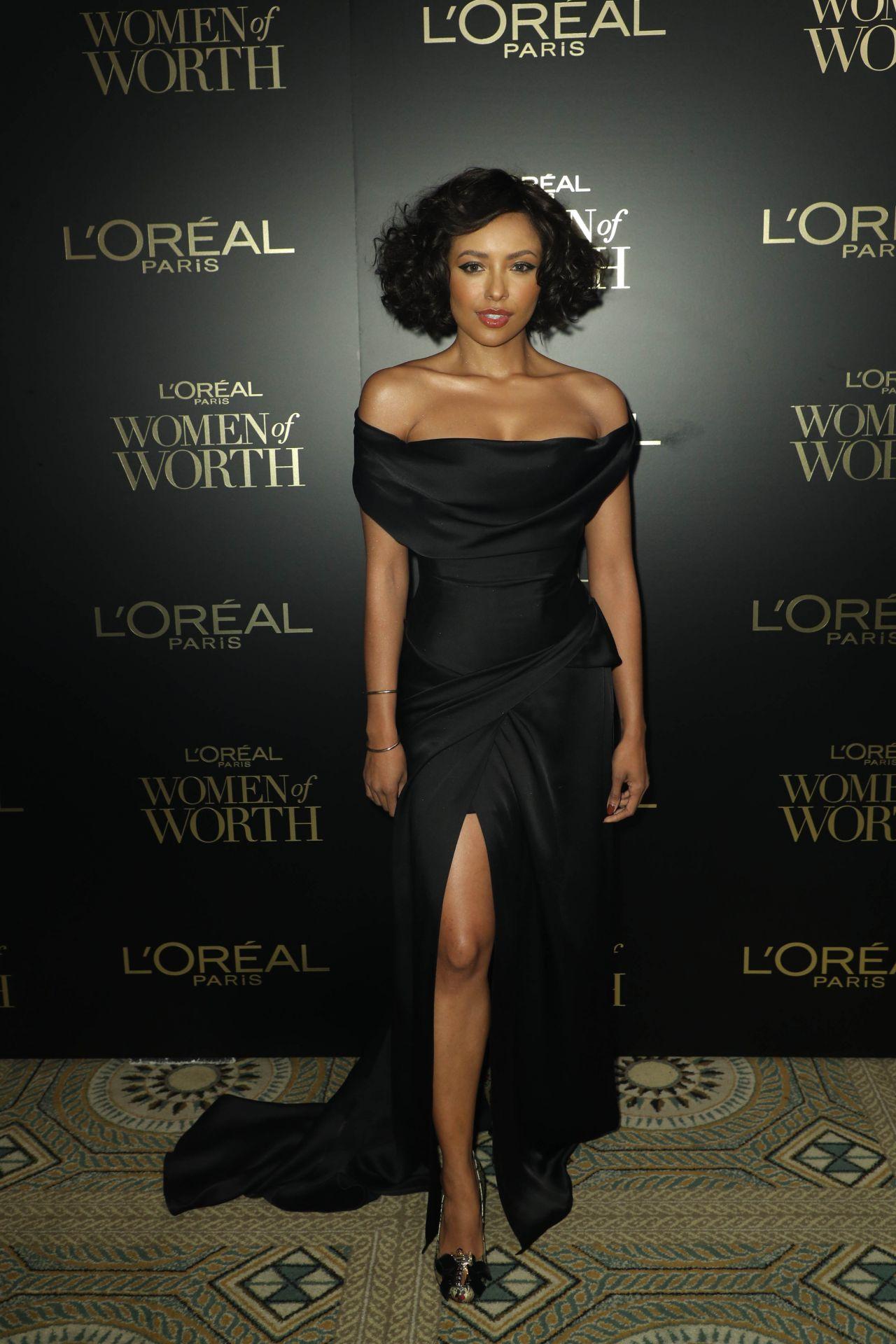 kat-graham-in-vivienne-westwood-2019-loreal-paris-women-of-worth-awards