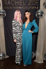 Katherine McNamara & Victoria Justice @ Rachel Zoe Collection Box Style Holiday Event With Tanqueray in LA