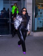 Kim Kardashian West Leaving  Nutcracker Performance In New York