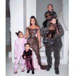 Kim Kardashian In  Christmas Dior @ Christmas 2019