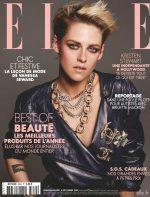 Kristen Stewart Covers  ELLE Magazine France December Issue