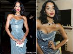 Laura Harrier   In Vivienne Westwood @  The Montecito Gala