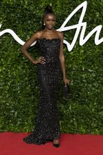 Leomie Anderson  In   Armani Prive @  2019 British Fashion Council Awards
