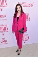 Madison Davenport In Pink Suit  @ 2019 The Hollywood Reporter Women In Entertainment Breakfast Gala