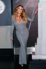 Mariah Carey  In Alexandre Vauthier @ Lights The Empire State Building In New York