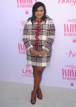Mindy Kaling  In Tory Burch @  2019 The Hollywood Reporter  Women in Entertainment Breakfast Gala