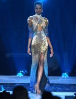 Zozibini Tunzi  In  Biji  Gown @ 2019 Miss Universe Competition In Atlanta