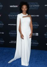 "Naomi Ackie In   Stella McCartney  @ ""Star Wars: The Rise of Skywalker"" LA Premiere"
