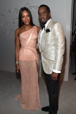 Naomi Campbell Attends  Sean Combs 50th Birthday Bash