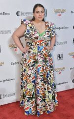 Beanie Feldstein  In Mary Katrantzou @ 2019 Gotham Awards