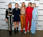 Florence Pugh , Eliza Scanlen,  Laura Dern , Greta Gerwig & Saoirse Ronan @ SiriusXM's Town Hall In NY