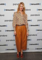 Laura Dern  In Chain Print Blouse  @ SiriusXM's Town Hall  In NY