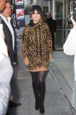 Selena Gomez In  Givenchy Leaving  NRJ Radio Studios In Paris