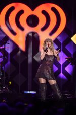 Taylor Swift Onstage at Madison Square Garden for iHeartRadio's Z100 Jingle Ball