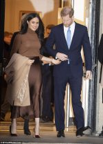 Meghan Markle  & Prince Harry Announce Decision to Step Down As Senior Royals